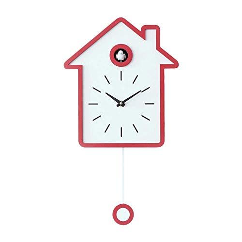 XHNXHN Reloj despertador Sala de estar Reloj despertador de pared Breve Timbre Reloj Niños Niños Decoraciones Hogar Adornos