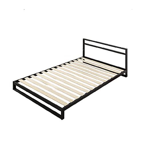 Somier Marco de Cama de Metal Multifuncional, Marco de Cama Doble Desmontable para Dormitorio Juvenil, Fácil de Instalar/Antideslizante(Size:205x150x68.7cm)