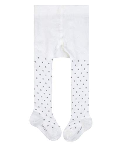 FALKE Unisex Baby Little Dot B TI Strumpfhose, Weiß (Off-White 2040), 62-68