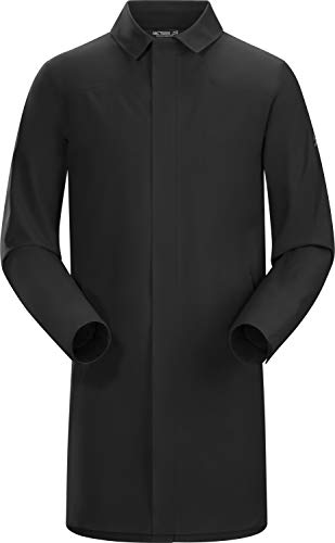 Arc'teryx Herren Keppel Trench Coat Men's Trenchcoat, Schwarz, L