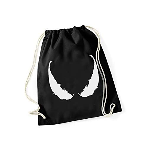 Marvel, borsa da palestra Venom Eyes, con stampa, 100% cotone