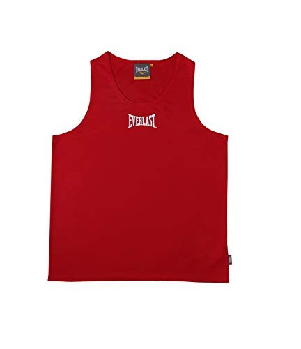 Everlast Erwachsene Boxartikel 4420 Competition Vest, Red, XL