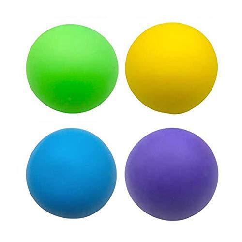 XIANLIAN Dekompressionskugel, Stresskugel entlasten Angst Druckkugeln, 2,36-2,56 Zoll Gymnastikball ziehen und kneifen, zur Übung und Stressreduzierung (einzeln oder einzeln)
