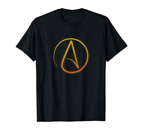 Atheism Symbol Proud Atheist Anti-Religion Agnostic T-Shirt