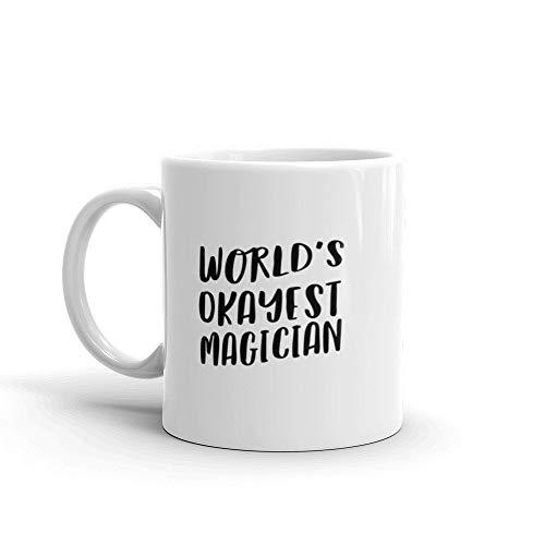 goochelaar koffie mok voor collega kantoor Cool unieke op maat magie beste geschenk grappige promotie nieuwe baan Performer kaart