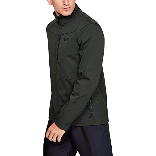 Under Armour Herren ColdGear Infrared Shield Jacket Jacke, Barock Grün (310)/Schwarz, Medium