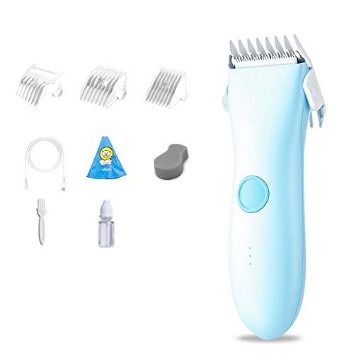 Professional Children's Hair Clippers voor huishoudelijk gebruik, Mute Children's Electric Clippers met Positioning Kam, Clean Cotton Kaal Temple Comb