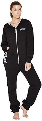 Jumpin Erwachsene Jumpsuit Original, Black, Schwarz, M, 10001