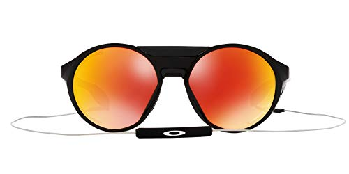 OO9440 Clifden Sunglasses, Polished Black/Prizm Ruby Polarized, 54mm