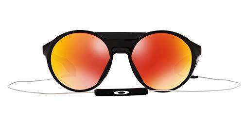 Oakley Occhiali da Sole Clifden Polarized, Nero