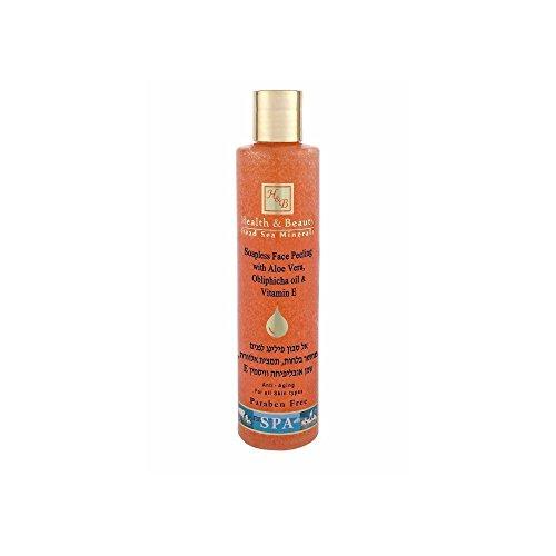 Hb mer morte - Nettoyant Peeling sans savon à base de glycérine, d'huile d'Orange & vitamine E - 250ml