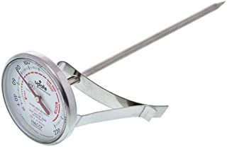"""Update International (THFR-17) 5 1/2""""-Long Dial Frothing Thermometer"""