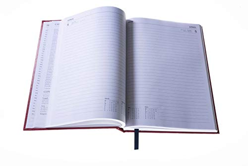 Collins Essential A5 Day to Page 2020 Diary - Assorted Colours