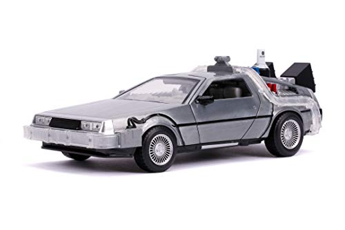 Jada TOYS Time Machine Ritorno al Futuro 2 in scala 1:24 con luci die-cast, + 8 anni, 253255021