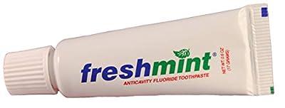 Freshmint Flouride Toothpaste, 144 Count, 0.6 Ounce