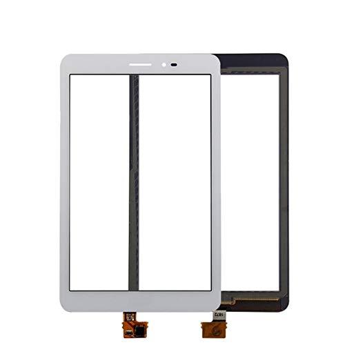 Kit de reemplazo de pantalla AJUSTE PARA HUAWEI MEDIAPAD T1 8.0 3G S8-701U / HONOR PAD T1 S8-701 Panel de pantalla táctil blanco Digitalizador Lente de vidrio Sensor Reemplazo kit de reparación de pan