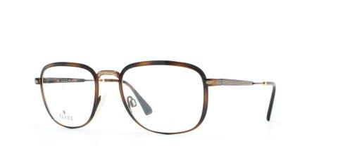 Gucci 1225 21Q Brown Occhiali da vista rettangolari certificati vintage montatura per uomo e donna