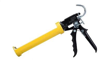 Dripless SI300 Contractor Grade Heavy Duty Caulking Gun, 10 oz Cartridge Capacity, 16:1 Thrust Ratio by Dripless, Inc.