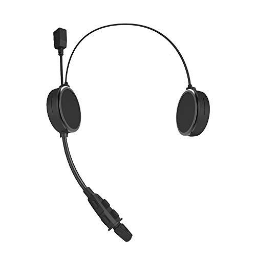 Motorfietshelm Bluetooth Headset, E300 Full duplex headset met microfoon, 300 m gesprek voor 2 bestuurders, en beschikt over een uniek menggeluid voor superzware bassen.