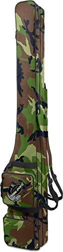Rutentasche RodBox Double Allround Rutenfutteral - 2 Fächer - Verschiedene Längen Farbe Woodland Größe 1,90 m