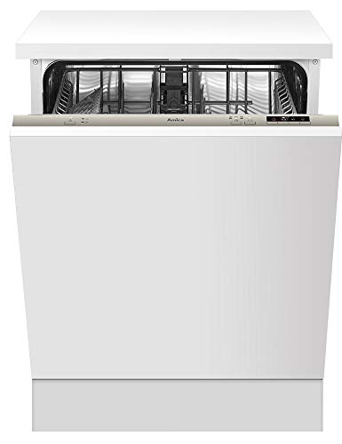 Amica Einbau Geschirrspüler 60cm vollintegriert AquaStopp Spülmaschine, Startzeitvorwahl, LED Display EGSPV 593 910