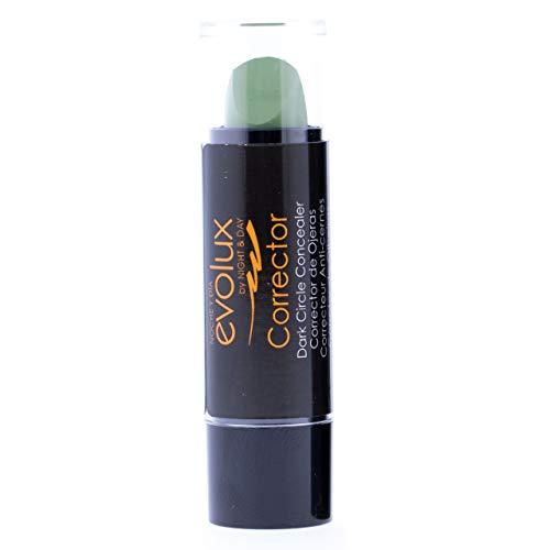 Evolux Dark Circle Concealer, Corrector de ojeras Color N.03 Verde - 1 unidad