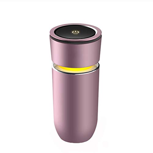 Purificateur d'air de voiture Ionizer et chargeur USB Purificateur d'air de voiture Ioniseur de filtre à air ionique avec charge rapide - élimine la fumée, les mauvaises odeurs et les odeurs