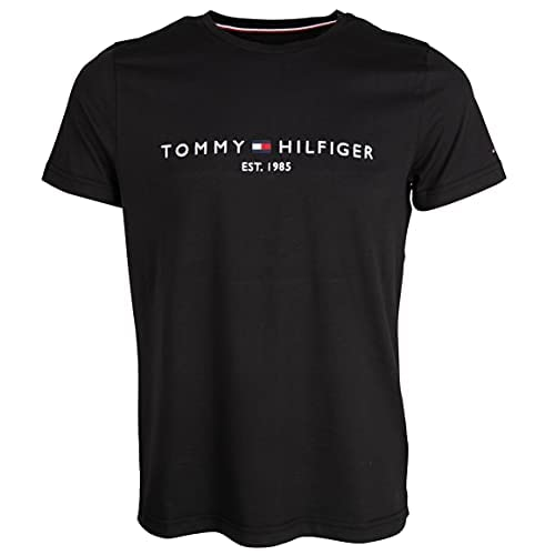 Tommy Hilfiger Logo T-Shirt Camiseta para Hombre a buen precio