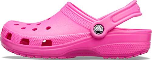 Crocs Classic, Zuecos Unisex Adulto, Rosa (Electric Pink), 37/38 EU