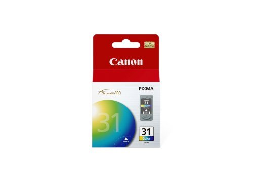 Canon CL-31 Color Ink Cartridge Compatible to iP2600, iP1800, MX310, MX300, MP210, MP470, MP140, MP190