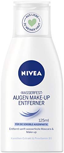 Nivea Augen Make-Up Entferner für wasserfestes Make-Up, 1er Pack (1 x 125 ml)
