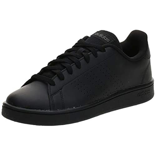 adidas Advantage Base, Scarpe da Tennis Uomo, Core Black/Core Black/Grey Six, 41 1/3 EU