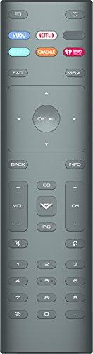 OEM Replacement Remote Control for Vizio XRT136 SmartCast Series Vizio Smart TVs D24f-F1 D32f-F1 D43f-F1 D43f-F1 D50f-F1 E43-E2 E48u-D0 E50-E1 E50-E3 E50u-D2 E50x-E1 E55u-D2 V605-G3 V435-G0 V555-G1