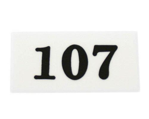 光 番号プレート (107) 00872387-1 UP357-107