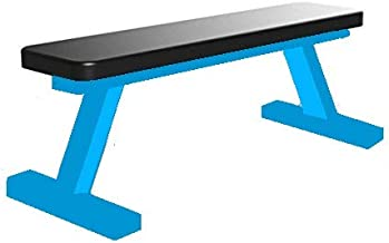 Produman hub Flat Weight Bench- 200 kg Capacity Utility Exercise Bench for Weight Strength Training, Sit Up Abs Fitness Bench for Full Body Workout of Home Gym