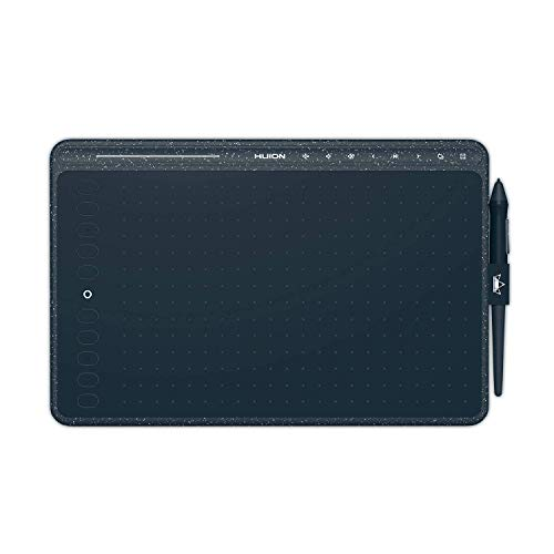 HUION hs611 Blue Tableta digitalizadora 5080 líneas por Pulgada 258,4 x 161,5 mm USB Azul