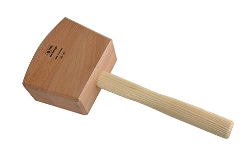 GM Schreinerklüpfel 16 cm Gr.3, Klüpfel Holzhammer aus Rotbuchenholz GM - Qualität