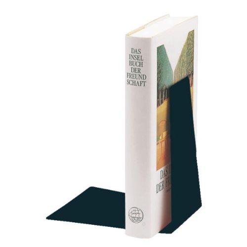 Leitz 5298-95 - Separalibros (125 x 140 x 145 mm), Color Negro