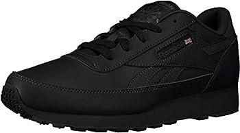 Reebok Men s Classic Renaissance Fashion Sneaker Black/Dark Grey Heather/Solid Grey 9.5 M US