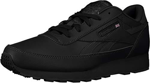 Reebok Men's Classic Renaissance Fashion Sneaker, black/dark grey heather/solid grey, 6.5 4E US