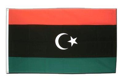 Libyen Königreich 1951-1969 Flagge, Fahne 60 x 90 cm, MaxFlags®
