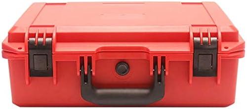 Qomomont Rot Military Spec Hardshell Transport Case Wasserdichter Aufbewahrungskoffer für DJI Mavic 2