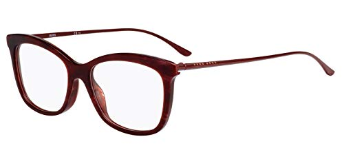 Hugo Boss Boss 0946 JR9 53 Gafas de sol, Rojo (Red Marble), Mujer