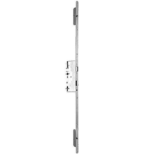 ToniTec® TT-MFV-102B Mehrfachverriegelung für Haustür Schloss Haustürschloss Tür Einsteckschloss mit Bolzenriegel 190cm, Ausführung:35/92/10 F16