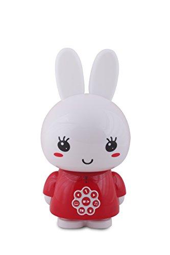 Alilo - Honey Bunny, juguete interactivo, color rojo, Español
