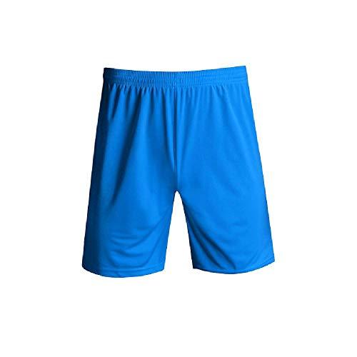 U/A Deportes de Secado Rápido Pantalones Cortos de Verano de los Hombres de la Aptitud de Correr Sueltos de Fútbol Pantalones Azul azul 42