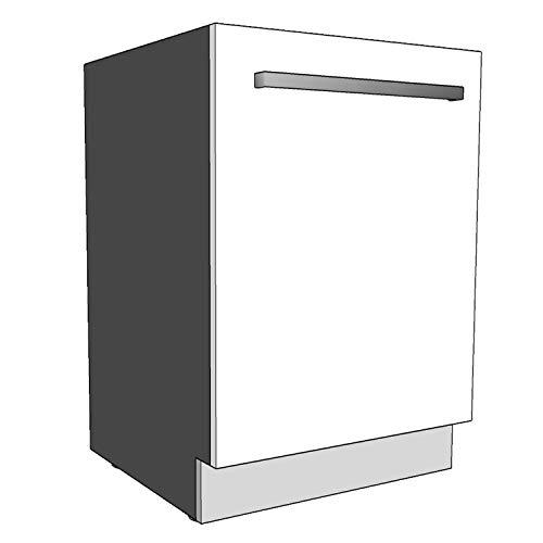 Geschirrspülersockel Sockelleiste 19mm voll-, teilintegriert und nach Maß (Lichtgrau, 594x95mm)