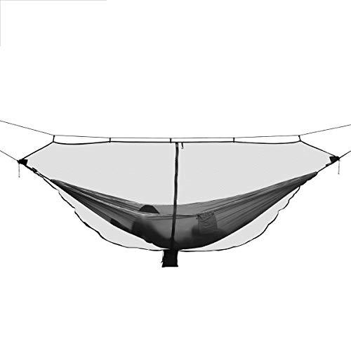 ZHANGNING Hamaca con mosquitera Hamaca portátil al Aire Libre Mosquito Insecto Net Camp Swing Bed Bed Protección de Gasa Hamaca aérea de Camping (Color : Army Green)