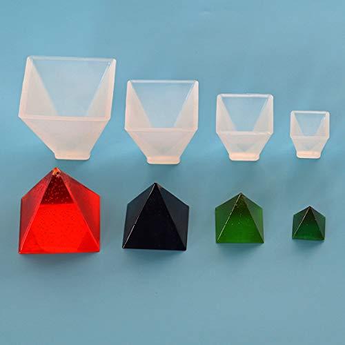 Banbie DIY handgemachte Schmuck Kegel Pyramide Kristall Tropfen Kuchen Schokolade Fondant Form