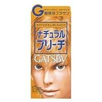 【マンダム】ギャッツビー ナチュラルブリーチ(医薬部外品) 1剤35g/2剤70ml ×10個セット
